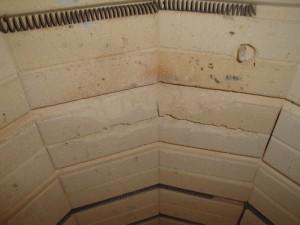 Nettoyage des briques réfractaires