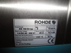 Four Rohde KE 150 S+