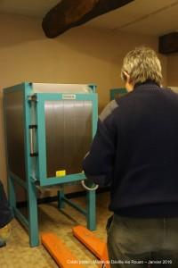 Installation du four Rohde KE 200 N